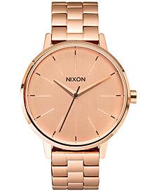 Nixon Women's Kensington Stainless Steel Bracelet Watch 37mm A099
