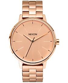 Nixon Women's Kensington Stainless Steel Bracelet Watch 37mm