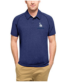 '47 Brand Men's Los Angeles Dodgers  Blend Polo
