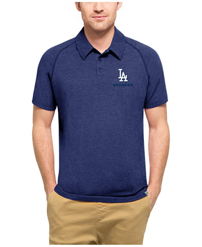 '47 Brand Men's Los Angeles Dodgers Blend Polo