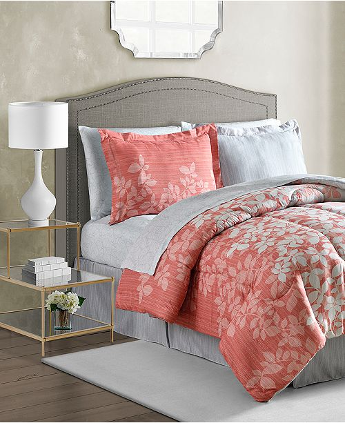Fairfield Square Collection Ashley 8-Pc. Reversible Bedding ...