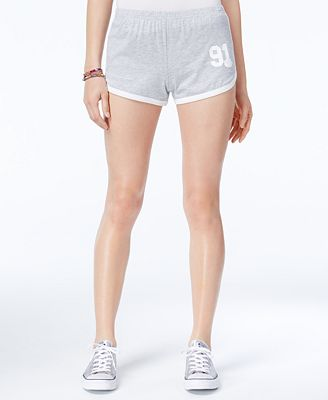 Love Tribe Juniors' Belle Rose Soft Shorts
