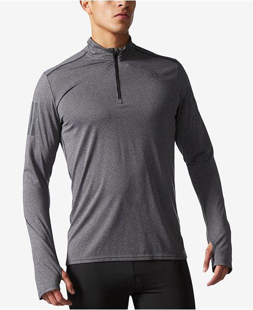 adidas Men's ClimaLite® Response Half-Zip Running Top