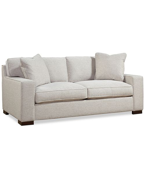 CLOSEOUT! Bangor 81 Fabric Apartment Sofa, Created for Macy\'s
