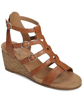 Aerosoles Sparkle Wedge Sandals