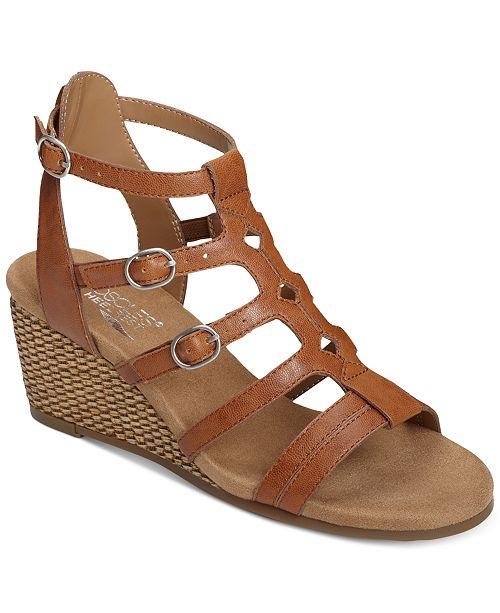 0f3e187bacf9 Aerosoles Sparkle Wedge Sandals   Reviews - Sandals   Flip Flops ...