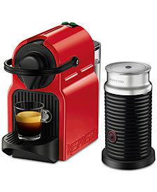 Nespresso Inissia Red Bundle
