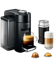 Nespresso Vertuo Coffee and Espresso Machine by De'Longhi with Aeroccino
