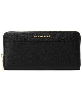 MICHAEL Michael Kors Mercer Zip-Around Continental Wallet - Handbags \u0026  Accessories - Macy\u0027s
