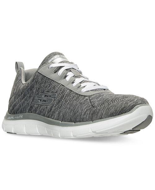 598bd673d6884 Skechers Women s Flex Appeal 2.0 Walking Sneakers from Finish Line ...
