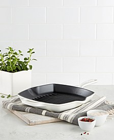 Enameled Cast Iron Skillet Grill