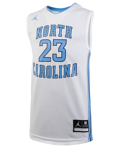 best sneakers 41180 6ef62 Michael Jordan North Carolina Tar Heels Replica Basketball Jersey, Big Boys  (8-20)