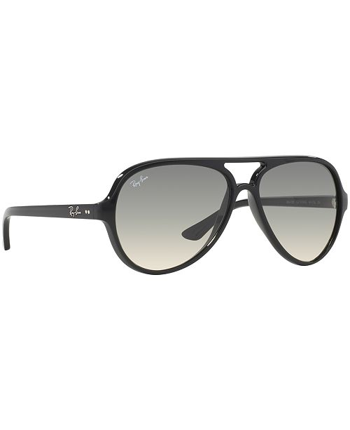 c75efb8b7a Ray-Ban Sunglasses, RB4125 CATS 5000 & Reviews - Handbags ...