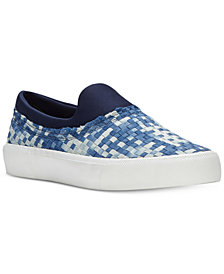 Jessica Simpson Dalana Woven Slide-On Sneakers