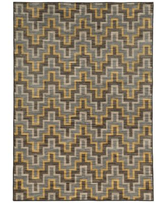 "CLOSEOUT!  Brookside Inca Brown 5'3"" x 7'6"" Area Rug"