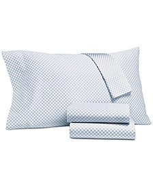 Charter Club Damask Designs Printed Dot Extra Deep California King 4-pc Sheet Set, 500 Thread Count, Created for Macy's
