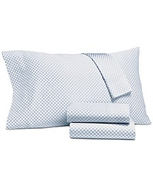 CLOSEOUT! Charter Club Damask Designs Printed Full 4-pc Sheet Set, 500 Thread Count, Created for Macy's