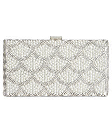 I.N.C. Kelli Imitation Pearl Clutch, Created for Macy's