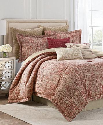 Savannah Home Samara Reversible California King Comforter Set