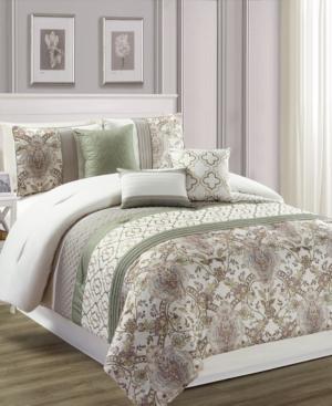 Encino 7-Pc. Queen Comforter...