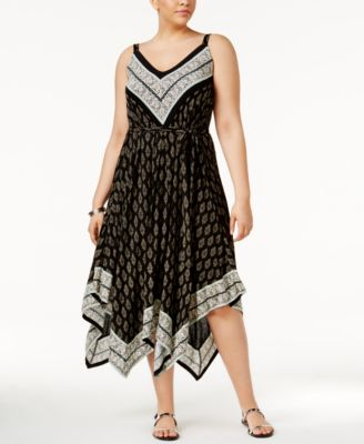 American Rag Trendy Plus Size Lace Back Tank Top Only At Macys
