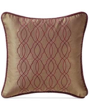 Waterford Athena 16 Square Decorative Pillow Bedding