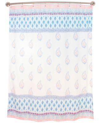 Home Boho Shower Curtain