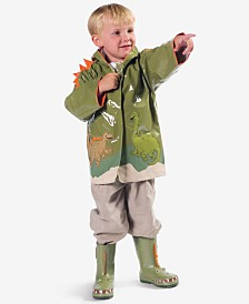 Kidorable Dinosaur Raincoat, Little Boys
