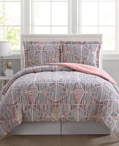 CLOSEOUT! Marina Reversible 2-Pc. Twin/Twin XL Comforter Mini Set
