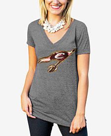 Gameday Couture Women's Cleveland Cavaliers Sequin Shine T-Shirt
