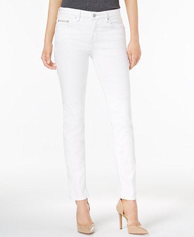 Calvin Klein Jeans Curvy-Fit Skinny Jeans - Jeans - Women - Macy's