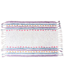 "Dena Lily Cotton Stripe 20"" x 30"" Bath Rug"