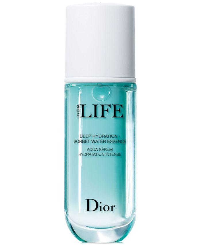 Dior Hydra Life Deep Hydration Sorbet Water Essence, 1.35 oz. & Reviews - Skin Care - Beauty - Macy's