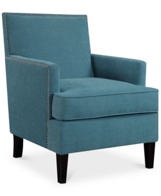 kendall fabric accent chair quick ship - Recliner Chair