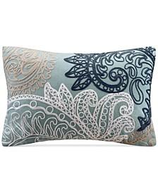 "Kiran Embroidered 12"" x 18"" Decorative Pillow"