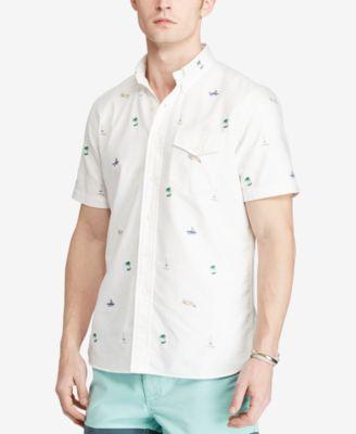 Polo Ralph Lauren Mens Casual Button Down Shirts & Sports Shirts ...