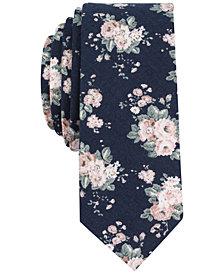 Original Penguin Men's Dogwood Floral Skinny Tie