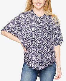 Splendid Maternity Printed Short-Sleeve Top