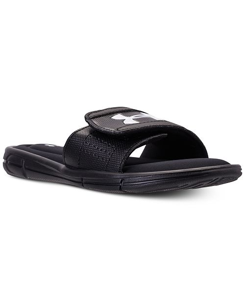 385adadc4914 Under Armour Big Boys  Ignite V Slide Sandals from Finish Line ...