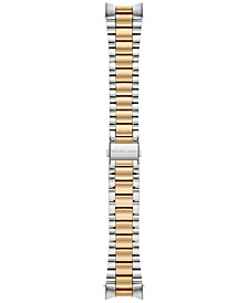 Access Women's Bradshaw Two-Tone Stainless Steel Bracelet Smart Watch Strap MKT9024
