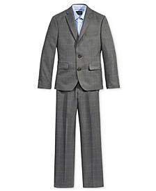 Gingham Shirt, Windowpane Jacket & Pants, Big Boys (8-20)
