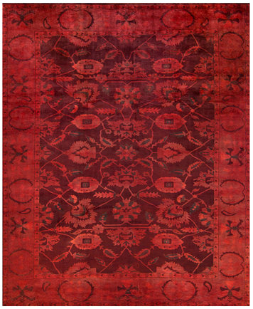 Closeout Macy S Fine Rug Gallery One Of A Kind Overdyed Zeigler