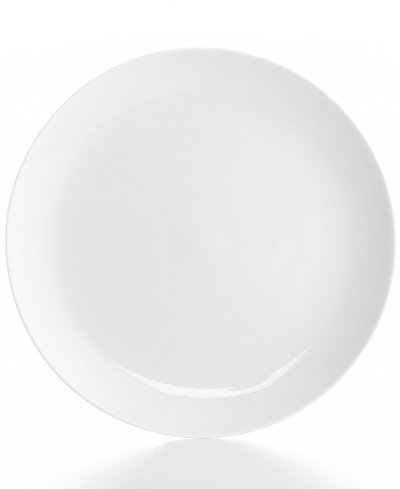 The Cellar Whiteware Coupe Dinner Plate, Created for Macy's