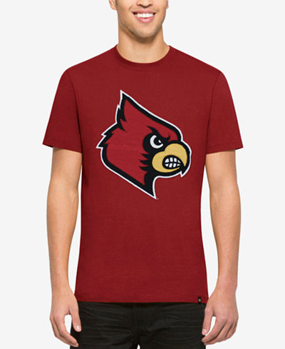 '47 Brand Men's Louisville Cardinals Knockout Fieldhouse T-Shirt