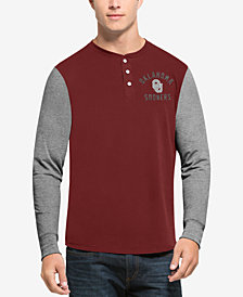 '47 Brand Men's Oklahoma Sooners Downfield Henley T-Shirt