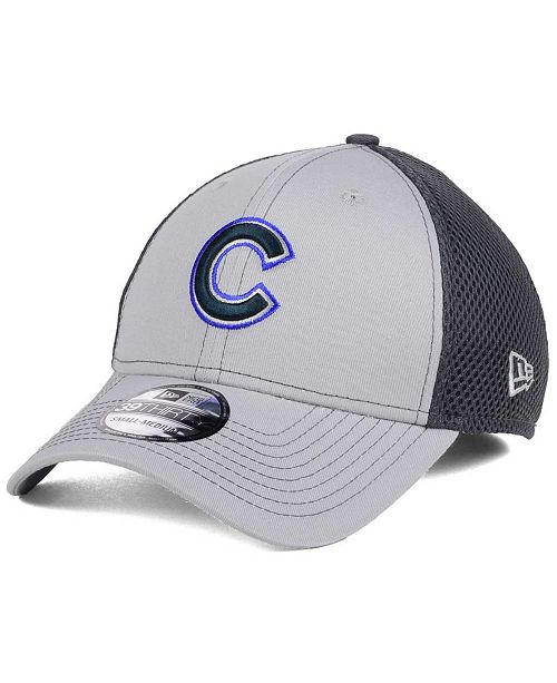 31495586d6e New Era Chicago Cubs Greyed Out Neo 39THIRTY Cap   Reviews ...