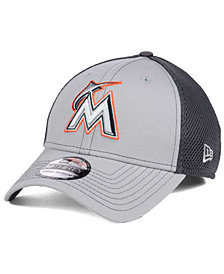 New Era Miami Marlins Greyed Out Neo 39THIRTY Cap