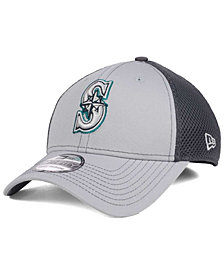 New Era Seattle Mariners Greyed Out Neo 39THIRTY Cap
