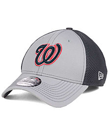 New Era Washington Nationals Greyed Out Neo 39THIRTY Cap
