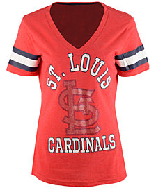 G-III Sports Women's St. Louis Cardinals Triple Play T-Shirt